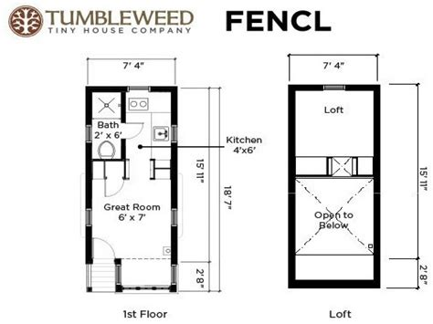 Small House Plans by Tiny House Floor Plans 14 X 18 Tiny Houses On Wheels
