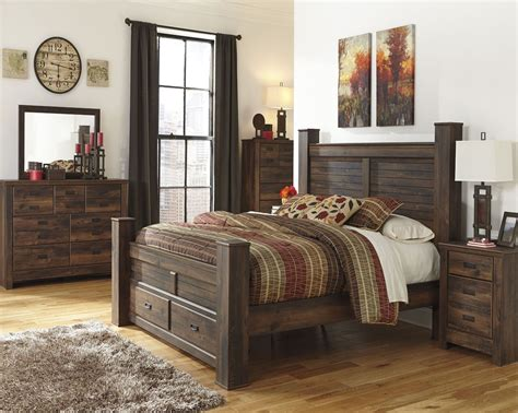 Average Cost Of King Size Bedroom Set by Quinden Poster Storage Bedroom Set From B246 61