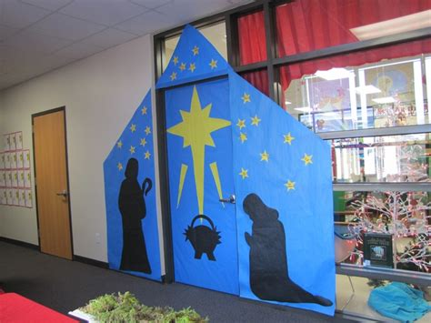 my door decoration at school christmas pinterest