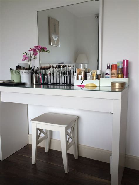Desk And Makeup Table My Make Up Table And Storage Pippa O Connor Official Website