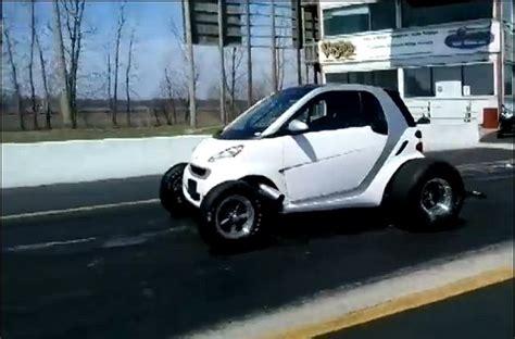 big smart car this a 12 second smart car powered by a big block