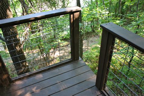 Hog Panel Deck Railing by Hog Panel Railings M O D F R U G A L