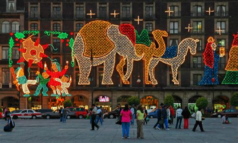 Mexican Decorations For Home Zenfolio Raymond Y Choo Mexico City Zocalo Christmas