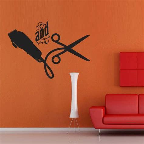 Hair Salon Wall Decor by Wall Decal Decor Decals Sticker Salon Hair