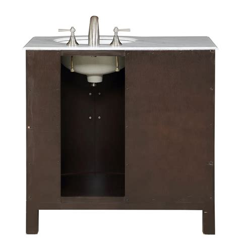 home design outlet center bathroom vanities silkroad exclusive 36 quot single right sink cabinet