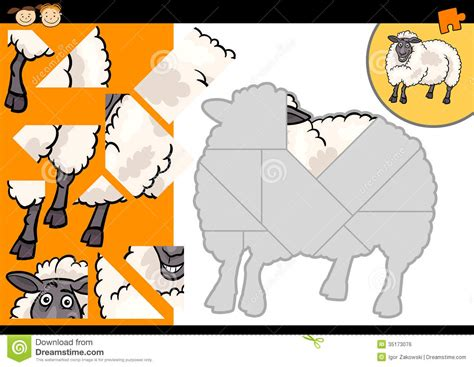 free logic puzzle online games for kids sheep cabbagewolf cartoon farm sheep puzzle game royalty free stock image