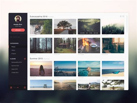 free photo gallery template free photo gallery website application template free psd