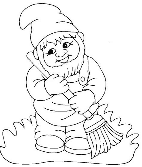 coloring page garden gnome 102 best images about garden gnomes coloring for adults