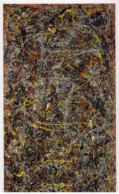 Ex Machina Length by Number 5 1948 Jackson Pollock Wikiart Org
