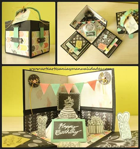 Explosion Box Birthdayanniversary 25 best ideas about explosion box on
