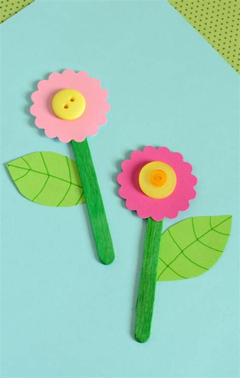 Easy Paper Flower Crafts - 25 best ideas about flower crafts on daycare