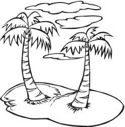 palm tree coloring page palmtree coloring page