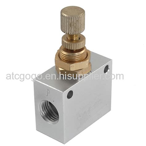 Pressure Speed Valve Flow 1 8 Chelic Asc 150 01 silver check air valve for filling and capping machine