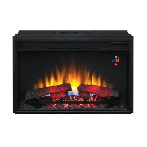 30 75 in traditional electric fireplace insert 74426 bb