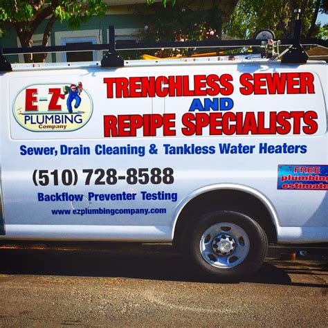 Plumbing Oakland Ca by A1 E Z Plumbing Trenchless Sewer Drain 11 Beitr 228 Ge