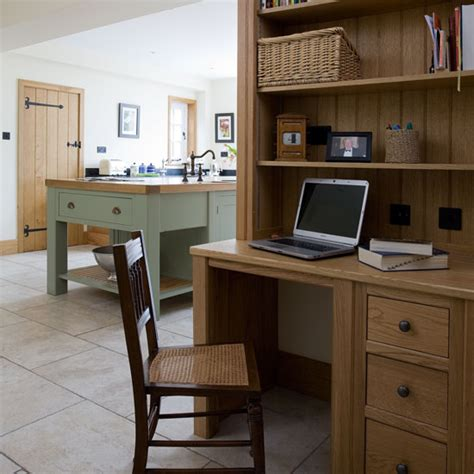 Newport Country Style Home Office Take A Tour Around A Painted Country Style Kitchen Ideal Home