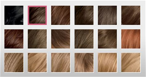 and easy hair color chart clairol nice and easy hair color chart