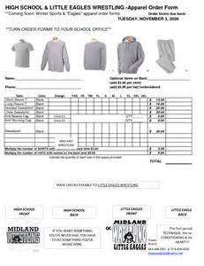 catalog order form template pin catalog clothing order form excel on