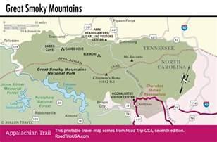 appalachian trail driving route road trip usa