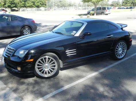 buy car manuals 2007 chrysler crossfire engine control sell used 2005 chrysler crossfire srt6 coupe in el paso