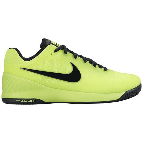 nike zoom cage 2 tennis shoes volt black