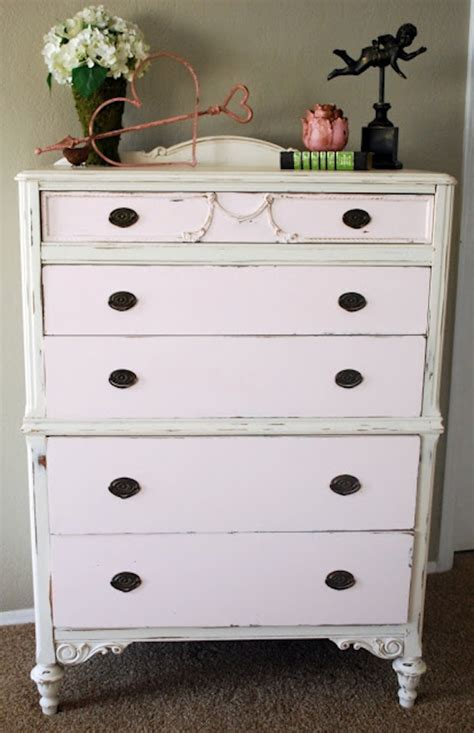 Painting Dresser by Pink Chalk Paint Dresser Recipe Clutter