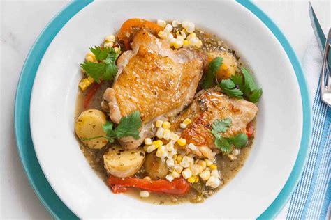 chicken stew with tomatillo sauce recipe simplyrecipes com