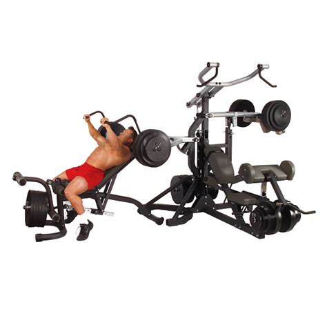 sbl460p4 freeweight leverage solid fitness