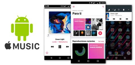 apple music android apple music para android por fin se actualiza con el nuevo