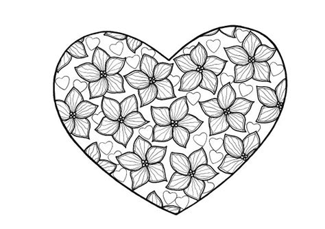 coloring pages for adults hearts true love heart adult coloring page thriftyfun