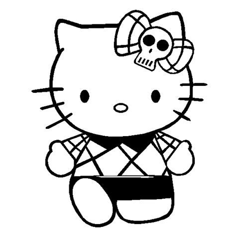 Hello Kitty Coloring Pages 2 To Print