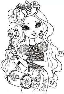after high coloring book free printable after high coloring pages briar