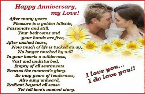 4th Year Wedding Anniversary Quotes For by Happy Anniversary Quotes For Husband