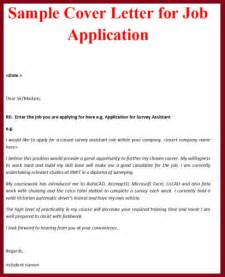 sle of covering letter for application business letter exle