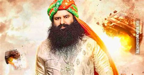 sant gurmeet ram rahim singh ji msg the messenger of god starring gurmeet ram