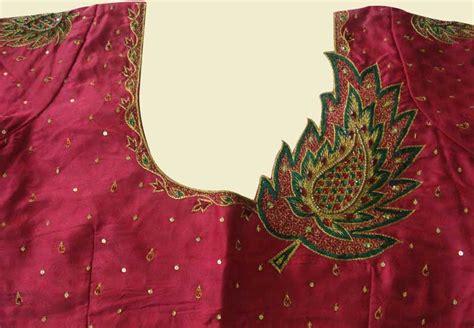 embroidery design for blouse varnajalam aari work design collection