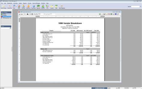 Rent Breakdown Letter Year End Correcting 1099 Vendor Breakdown Errors