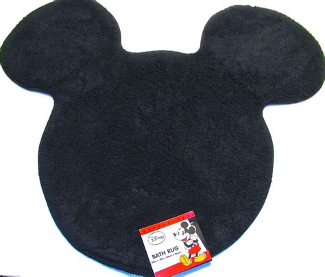 mickey mouse bath rug disney finds decorating your bathroom with mickey