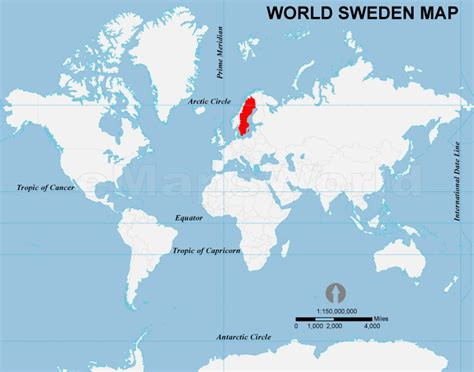sweden on a world map sweden location map location map of sweden