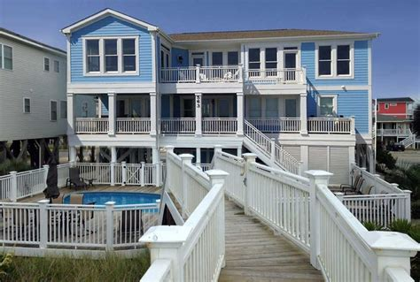 Ocean Front Holden Beach Nc Archives Vintage House Rentals Holden Nc
