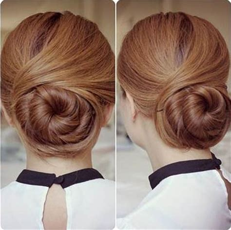 how to diy easy and elegant bun hairstyle icreativeideas how to diy elegant twisted hair bun hairstyle