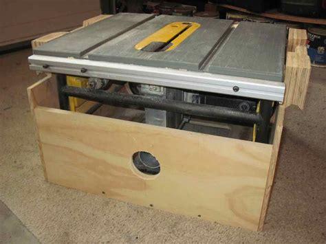 dewalt table  mounted  paulk workbench page