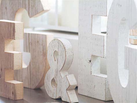 lettere mobili lettere per arredare casa