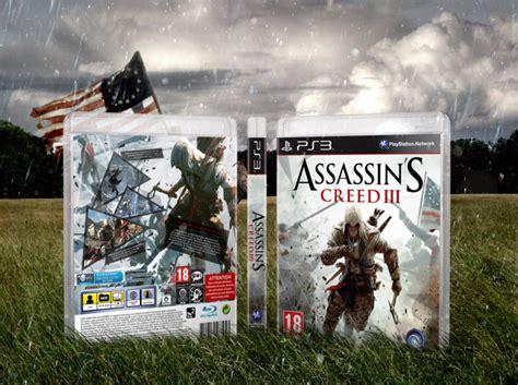 amazoncom assassins creed playstation 3 artist not assassin s creed iii playstation 3 box art cover by mark inou