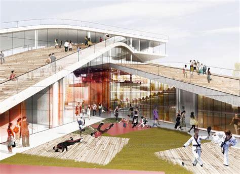 design center denmark cultural center in denmark big architects exteriores