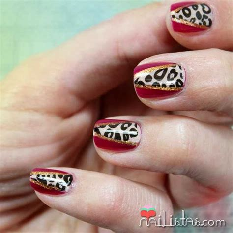 imagenes de uñas de acrilico de leopardo u 241 as decoradas de animal print con el kit wild things de