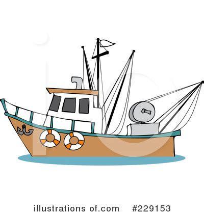 cartoon trawler boat trawler clipart 229153 illustration by djart