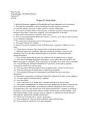 chapter 25 study guide nina kumar rosenberger ap world