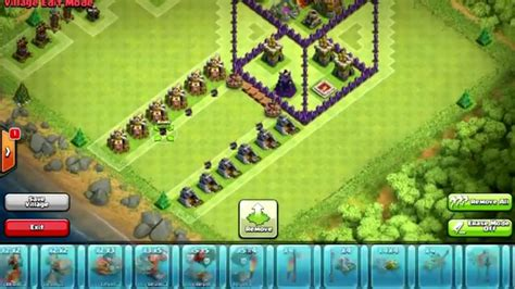 3d Puzzle Coc Clash Of Clans Box clash of clans awesome town 7 troll base design 3d box jump base troll base