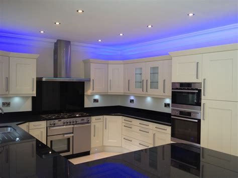 kitchen led light led light design top led kitchen lighting design home